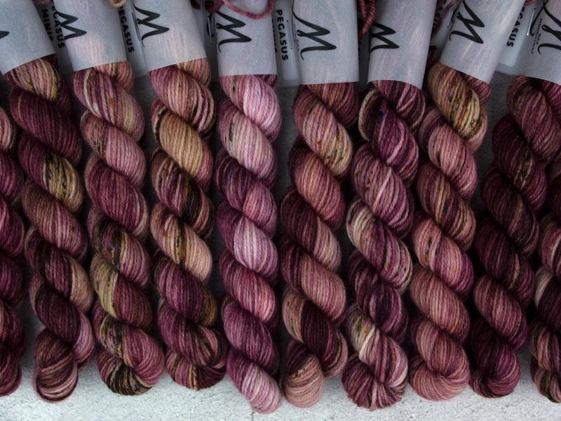 KHALEESI - 20g mini sock yarn