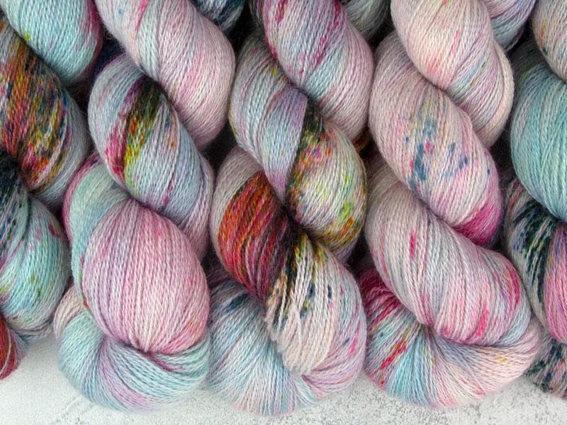 BUTTERFLY EFFECT - 100g Alpaca Silk Cashmere Lace