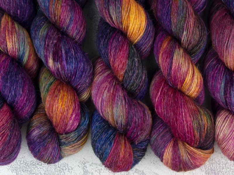 I WANT TO BELIEVE - 100g alpaca silk linen