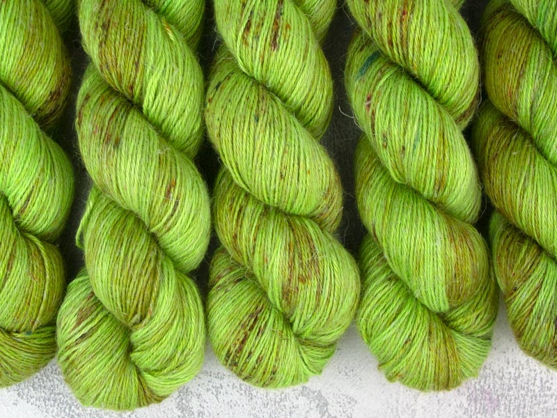 SOYLENT GREEN - 100g alpaca silk linen