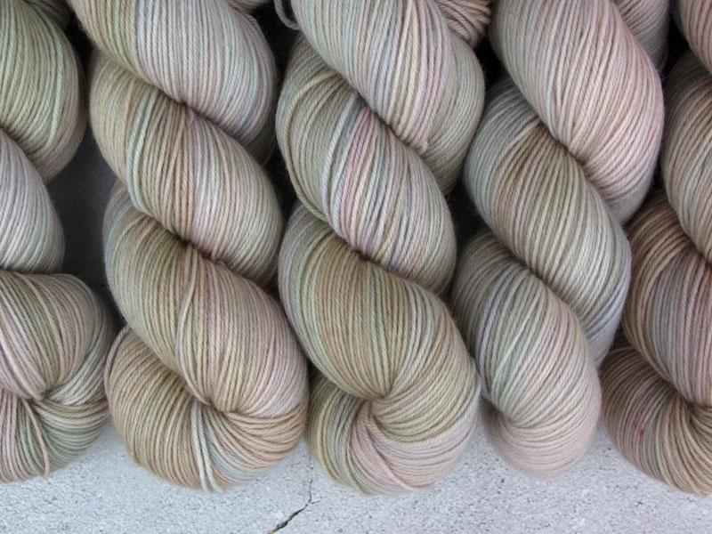 LAST OF US - 100g merino sock yarn