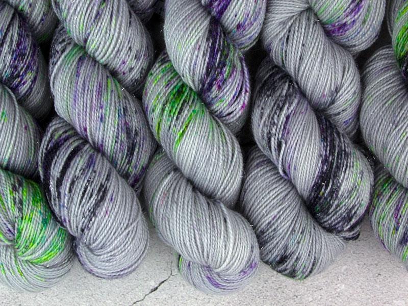 BOREALIS - 100g sparkling sock yarn