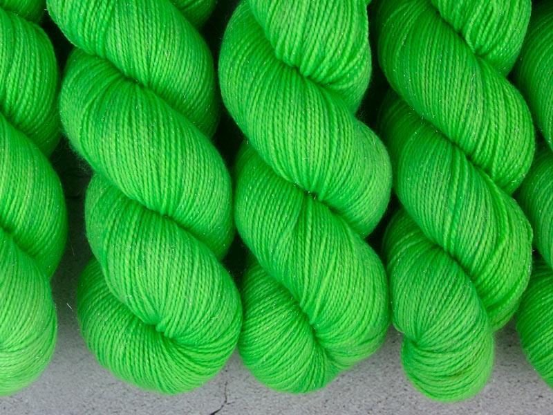 KRYPTONITE - 100g Sockenwolle glitzer