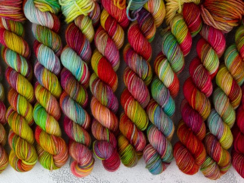 BUFFY - 20g mini sock yarn