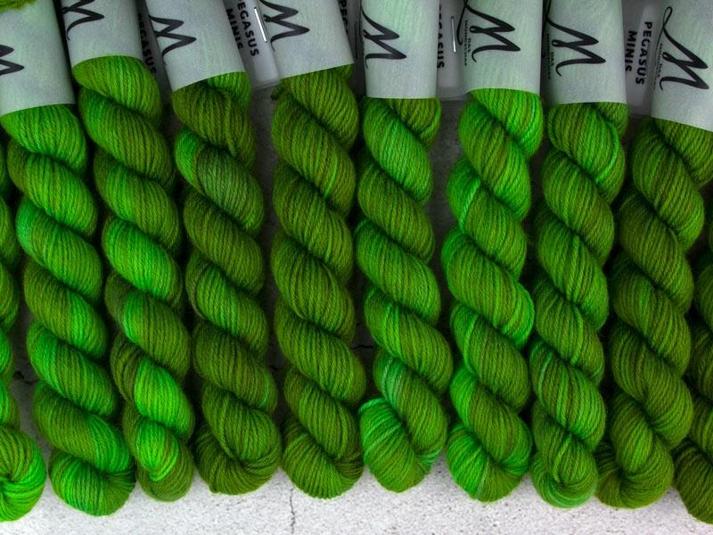 SOYLENT GREEN - 20g Mini Sockenwolle
