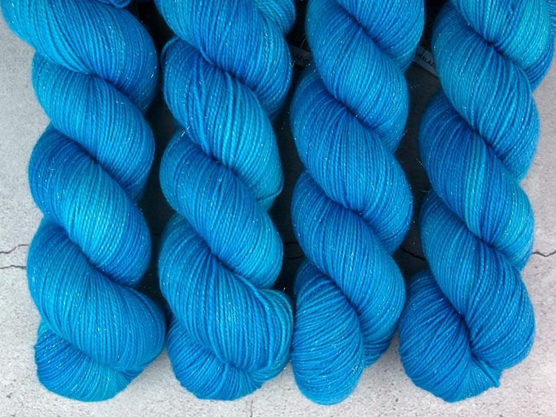 LAPISLAZULI - 100g sparkling sock yarn