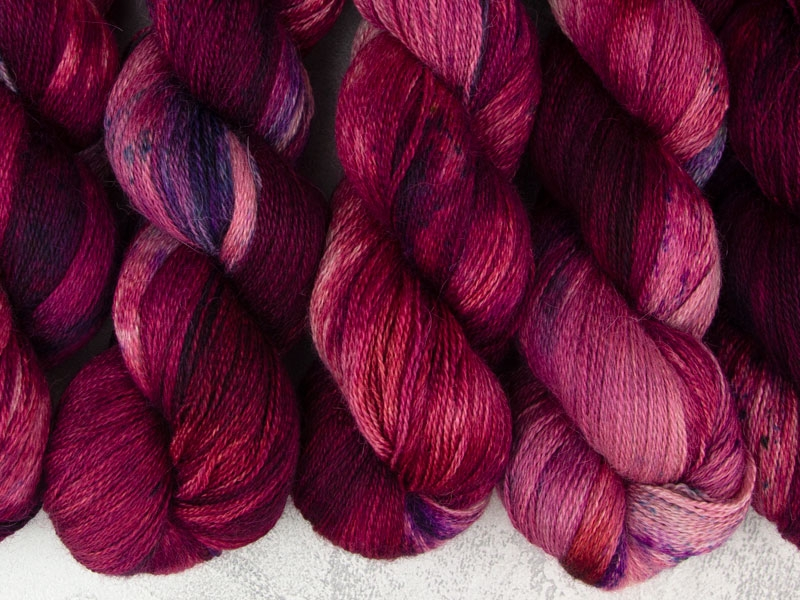 LORD OF WAR - 100g Alpaca Silk Cashmere Lace
