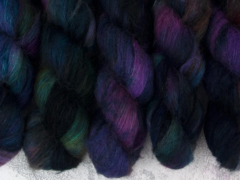 LOTHLORIEN - 50g Suri Silk Lace