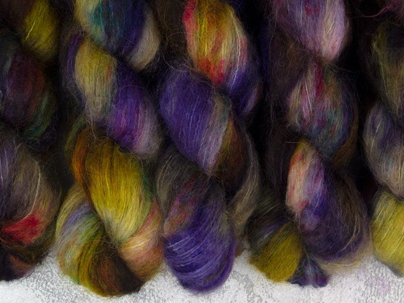 RELEASE THE KRAKEN - 50g Suri Silk Lace