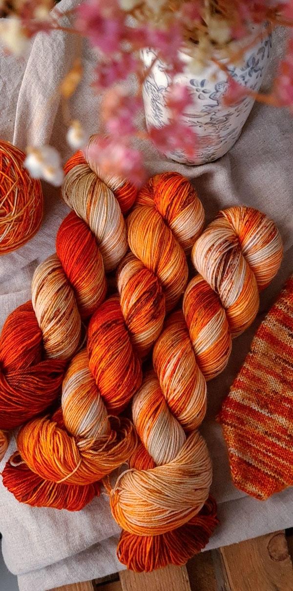 PUMPKIN PIE - Halloween colorway