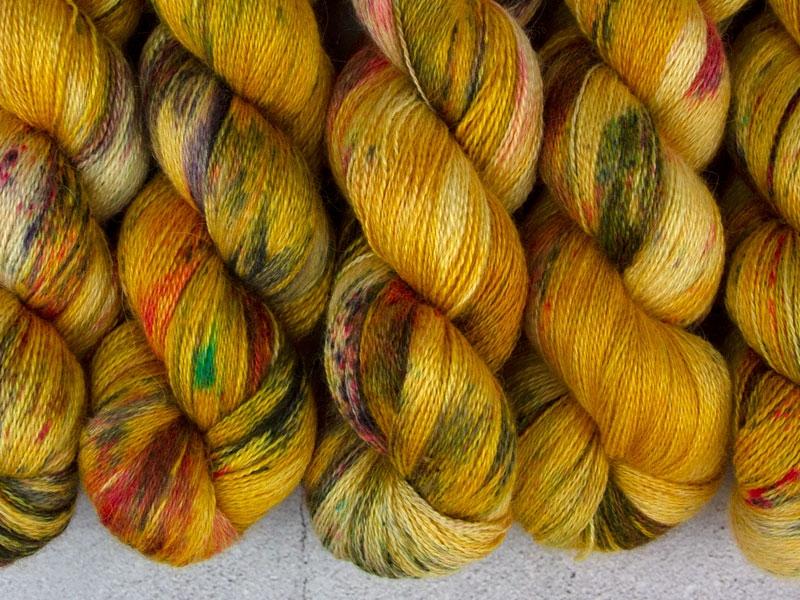 AZEROTH - 100g Alpaca Silk Cashmere Lace