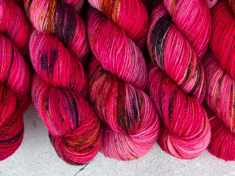 CHILDLIKE EMPRESS - 100g sparkling sock yarn