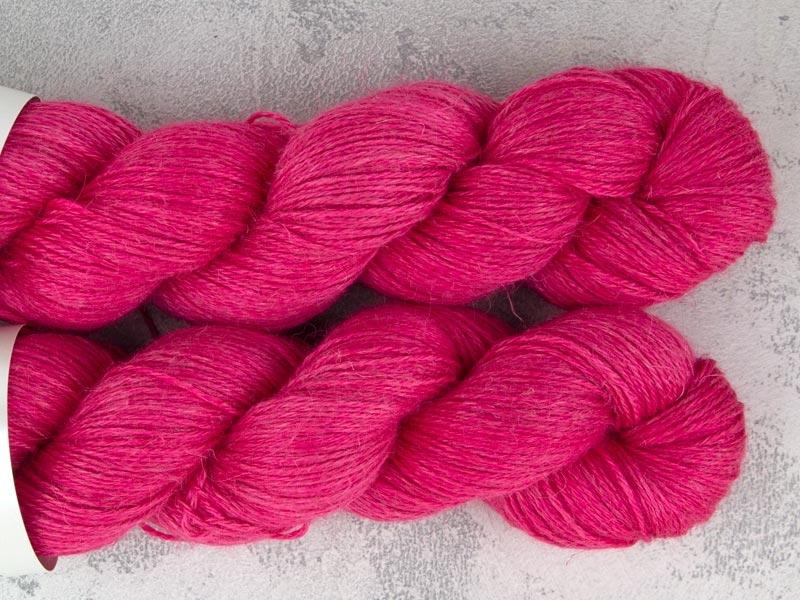 PINK PANTHER - 100g alpaca silk linen