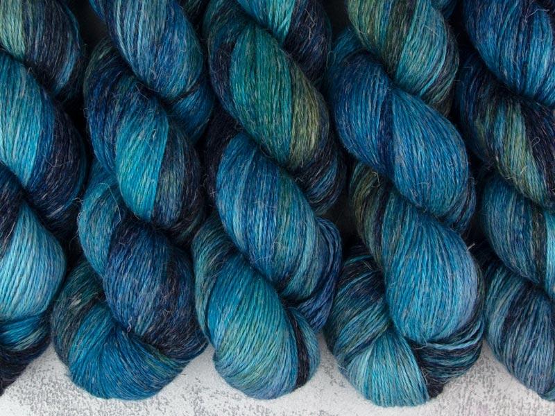 TOTORO - 100g alpaca silk linen