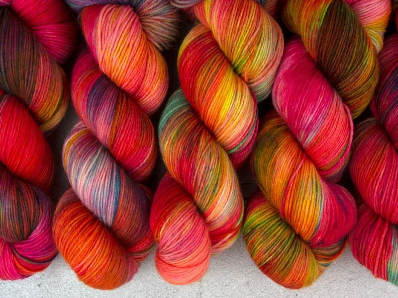 BUFFY - 100g merino sock yarn