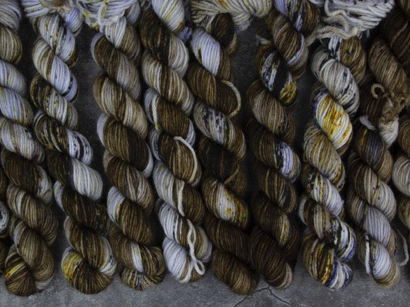 EARL GREY.HOT. - 20g Mini Sockenwolle