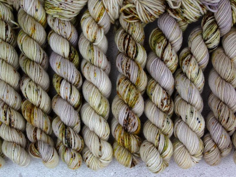 DIE HARD - 20g mini sock yarn