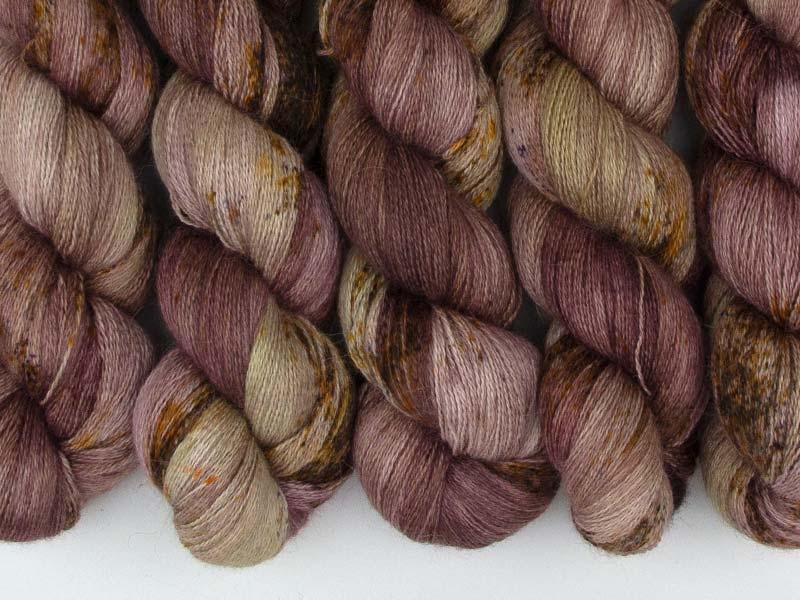 KHALESI - 100g Alpaca Silk Cashmere Lace
