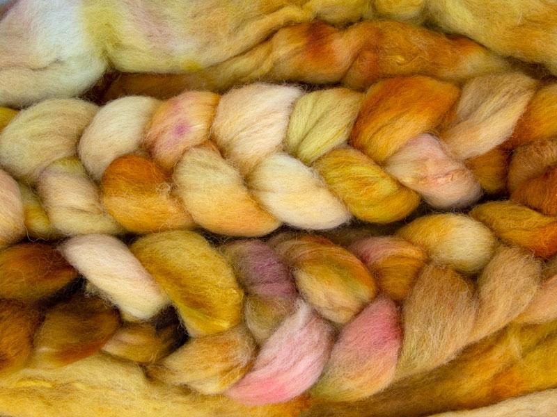 125g roving shetland silk