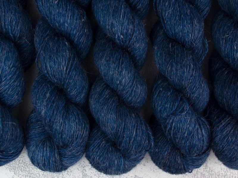 TARDIS - 100g alpaca silk linen