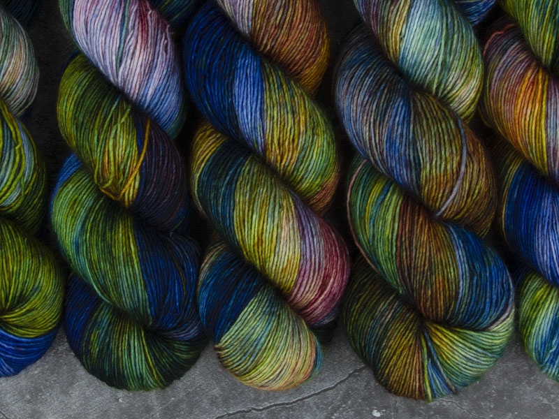 I WANT TO BELIEVE - 100g Merino Singles